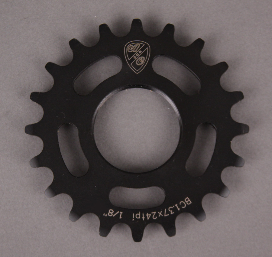 All City Track Cog 1/8th Inch 17 Tooth Black
