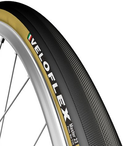 Veloflex Master 23c Tan Sidewall Racing Tire 23c Clincher